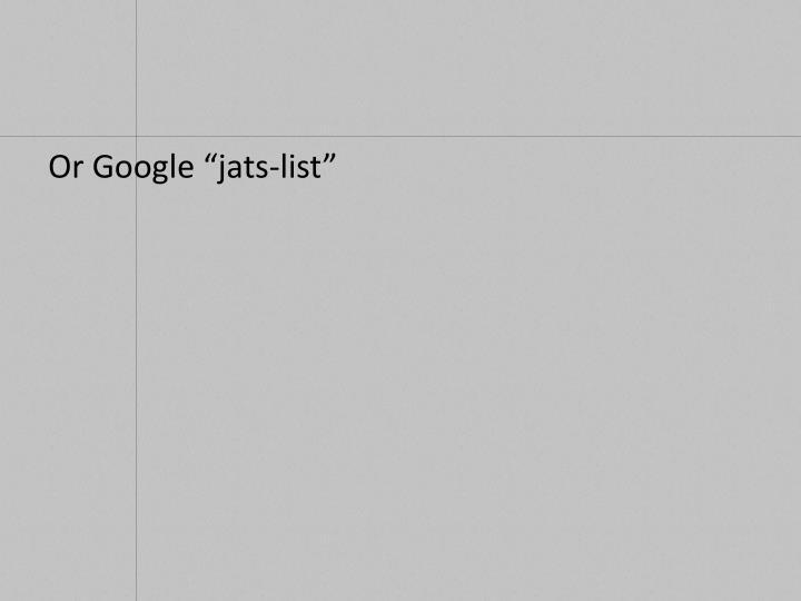 "Or Google """