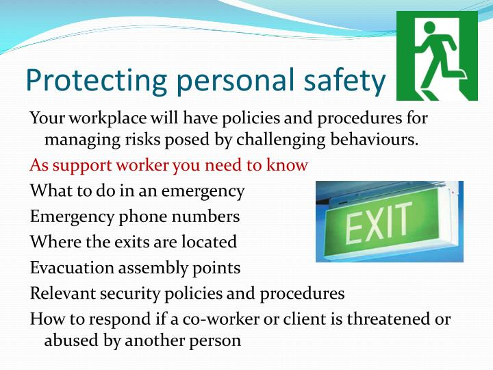 Protecting personal safety