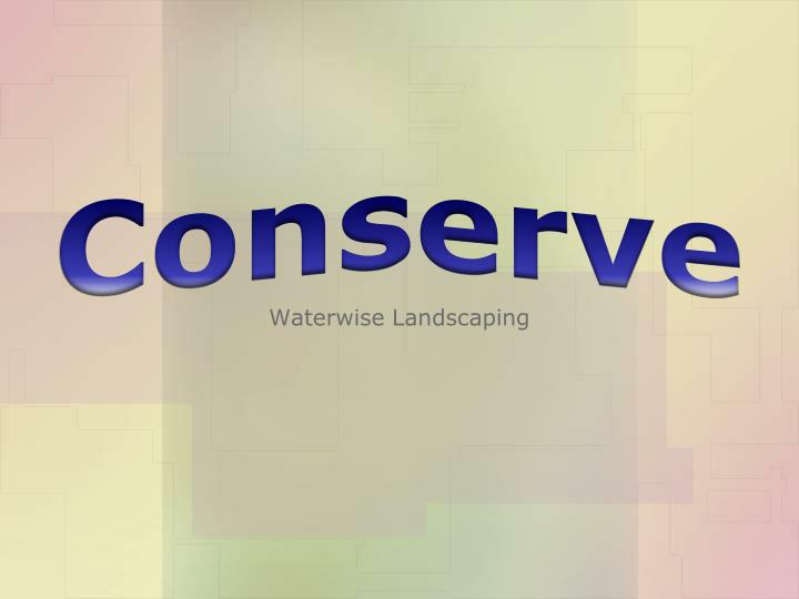 conserve n.