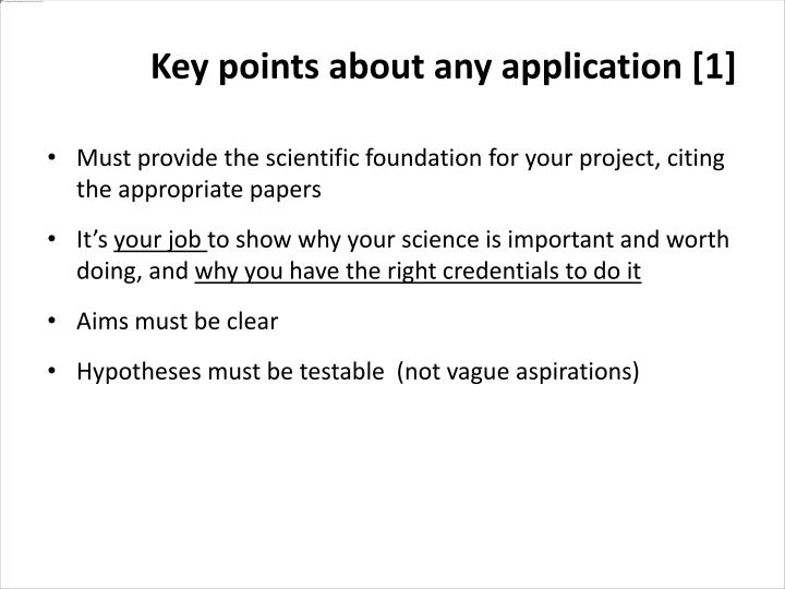 Must provide the scientific foundation for your project, citing the appropriate papers
