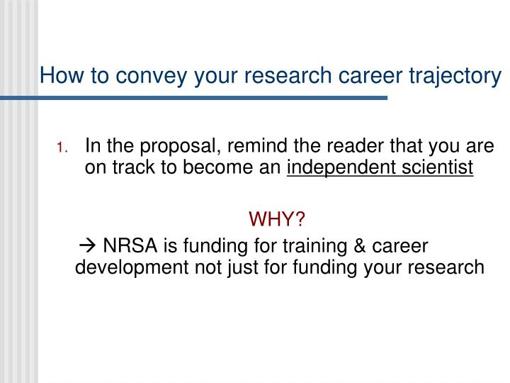 How to convey your research