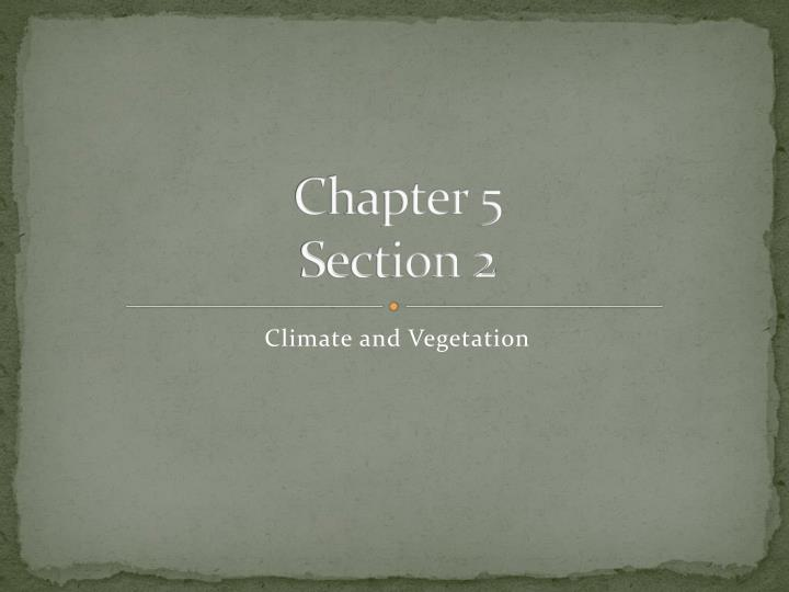 chapter 5 section 2 n.