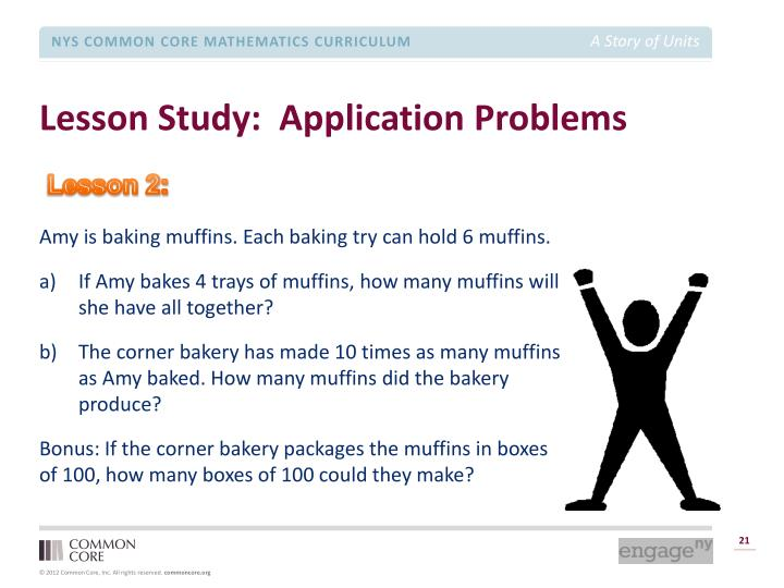 Lesson Study:  Application Problems