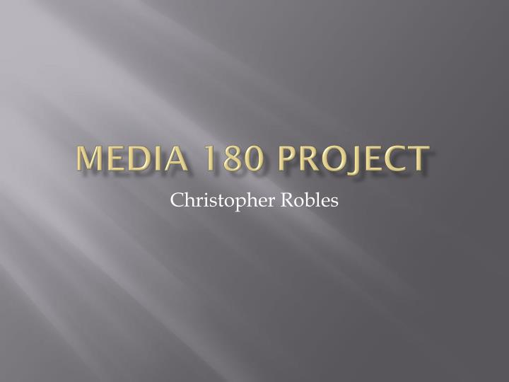 media 180 project n.