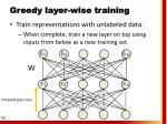 greedy layer wise training1