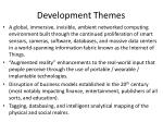 development themes
