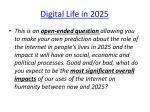 digital life in 2025
