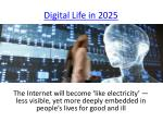 digital life in 20251