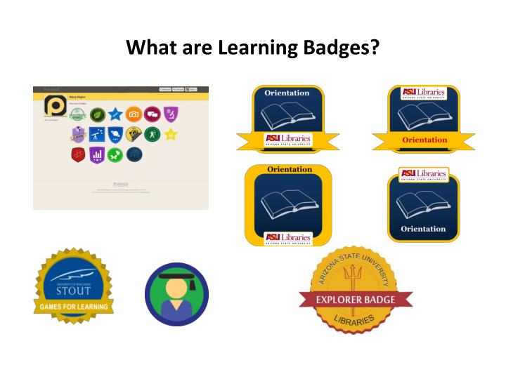What are Learning Badges?