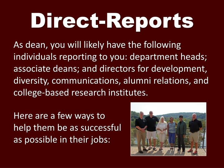 Direct-Reports