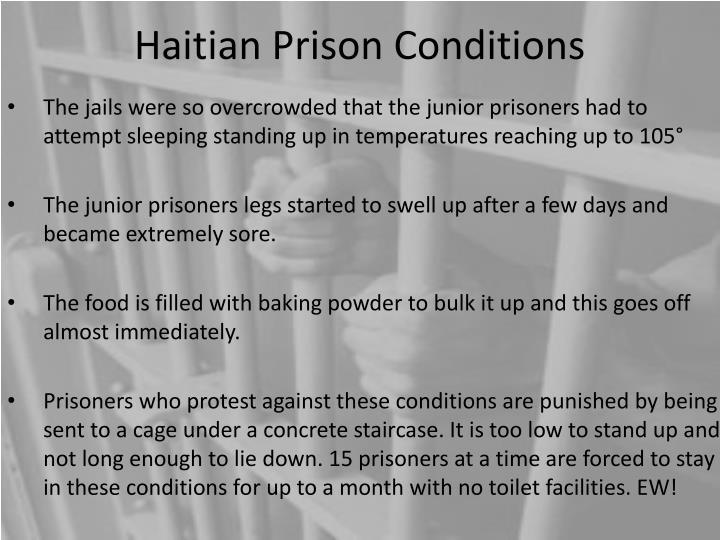 Haitian Prison Conditions