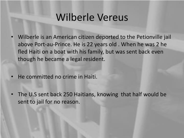 Wilberle Vereus