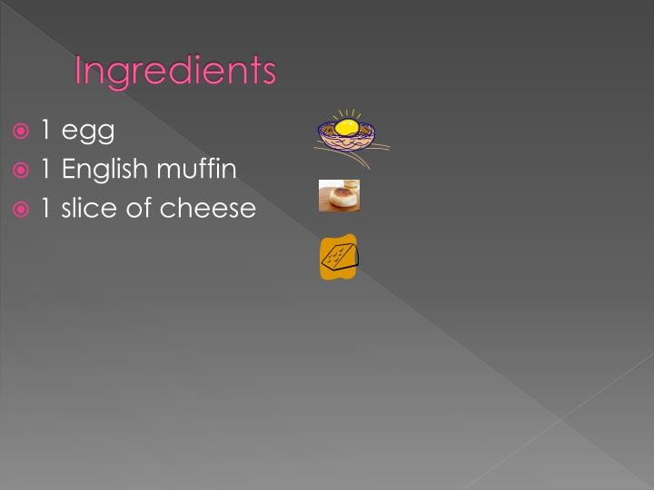 Ingredients