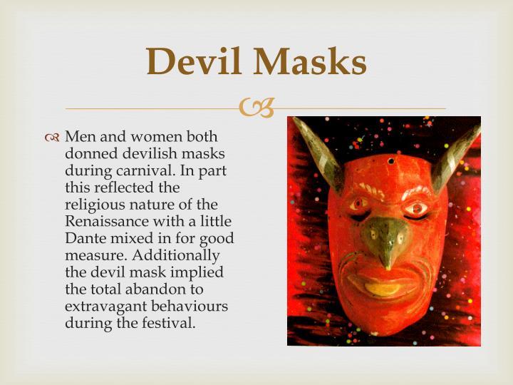 Devil Masks