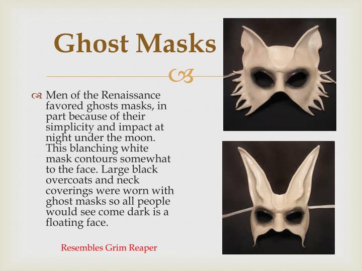 Ghost Masks