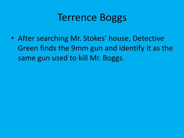 Terrence Boggs