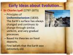 early ideas about evolution3