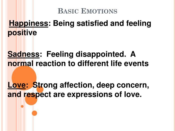 Basic emotions1