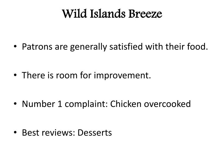 wild islands breeze n.