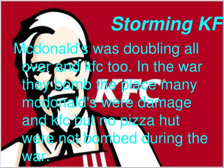 Storming kfc