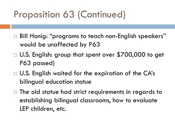 Proposition 63 (Continued)