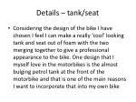 details tank seat