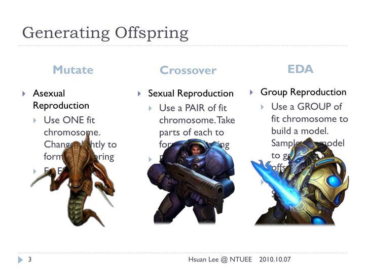 Generating offspring