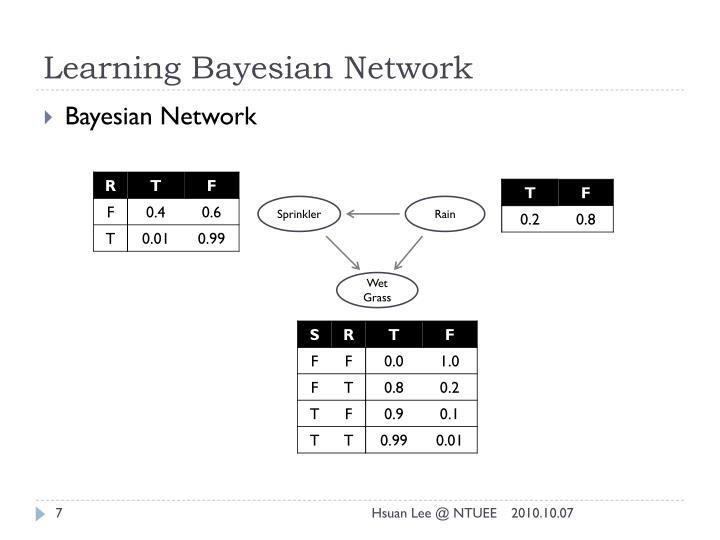 Learning Bayesian Network