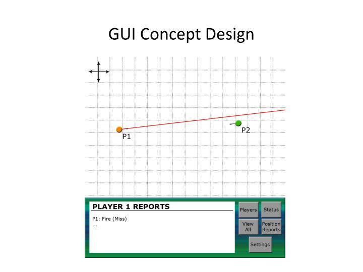 GUI Concept Design