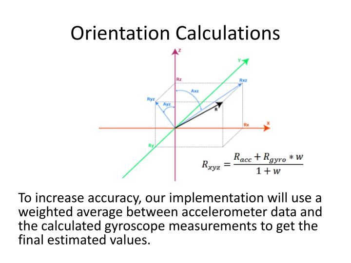 Orientation Calculations