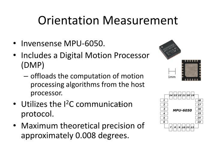 Orientation Measurement