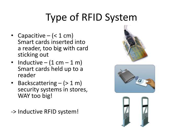 Type of RFID System