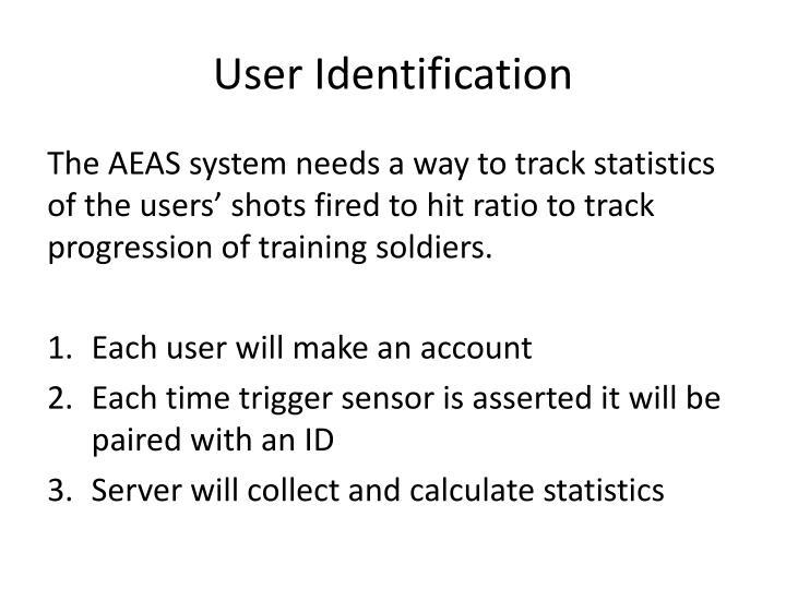 User Identification
