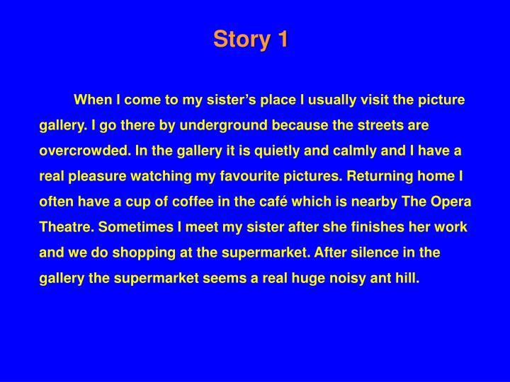 Story 1