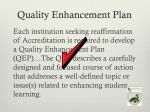 quality enhancement plan1