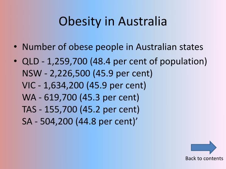 Obesity in Australia