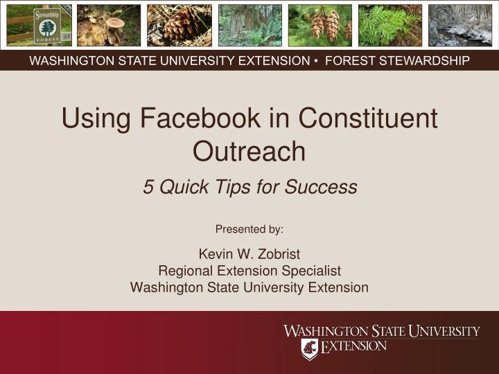 using facebook in constituent outreach 5 quick tips for success n.