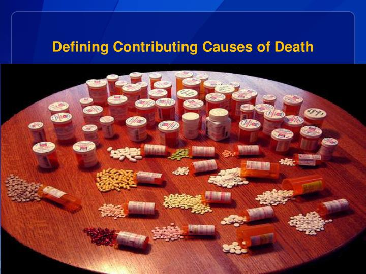Defining Contributing Causes of Death