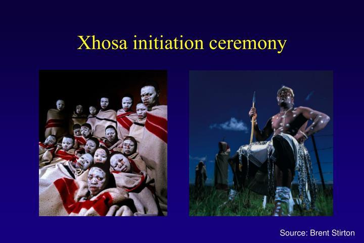Xhosa initiation ceremony