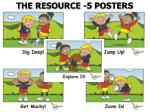 the resource 5 posters