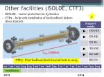 other facilities isolde ctf3