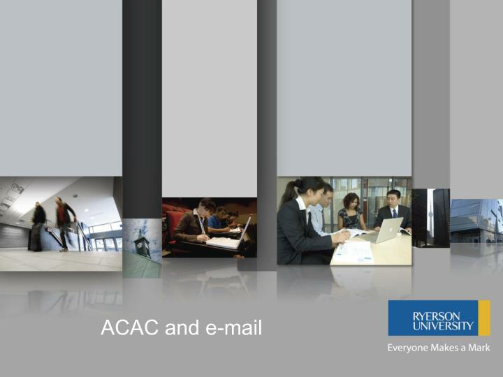 acac and e mail