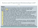 ratios and proportional relationships 6 rp1
