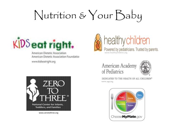 Nutrition your baby