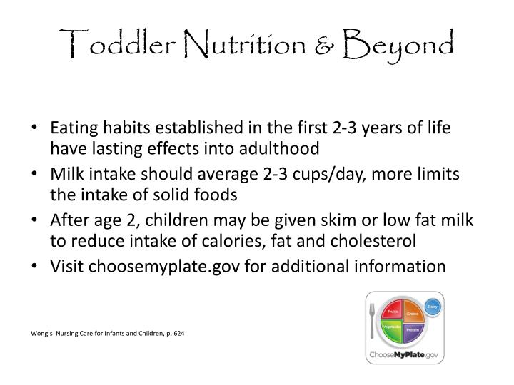 Toddler Nutrition & Beyond