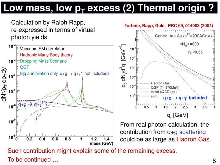 Low mass, low