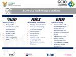 eohpsas technology solutions