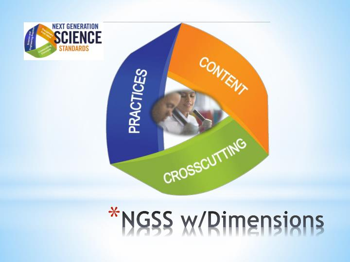 NGSS w/Dimensions