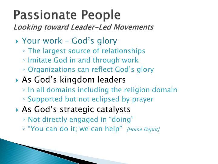 Passionate People