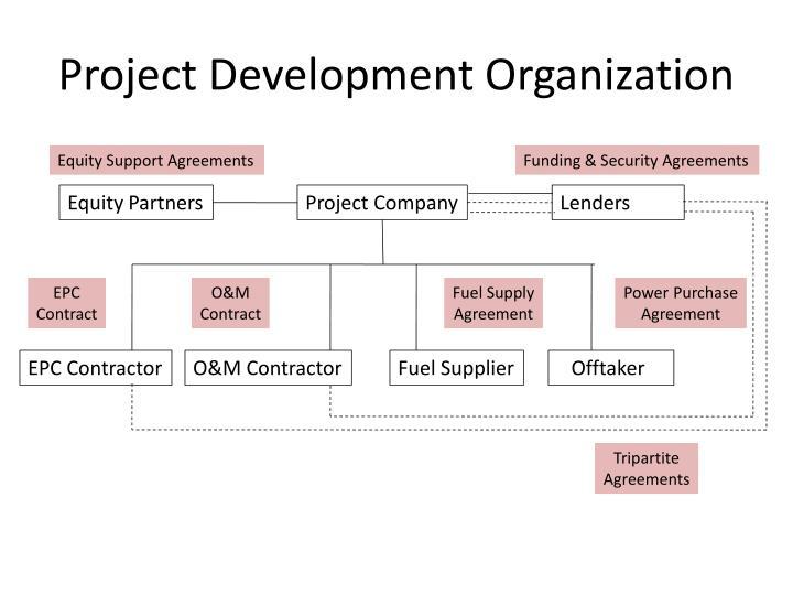Project development organization